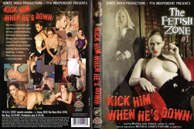 Fetish Zone 1 Kick Him When He's Down - Sweet N Evil Video