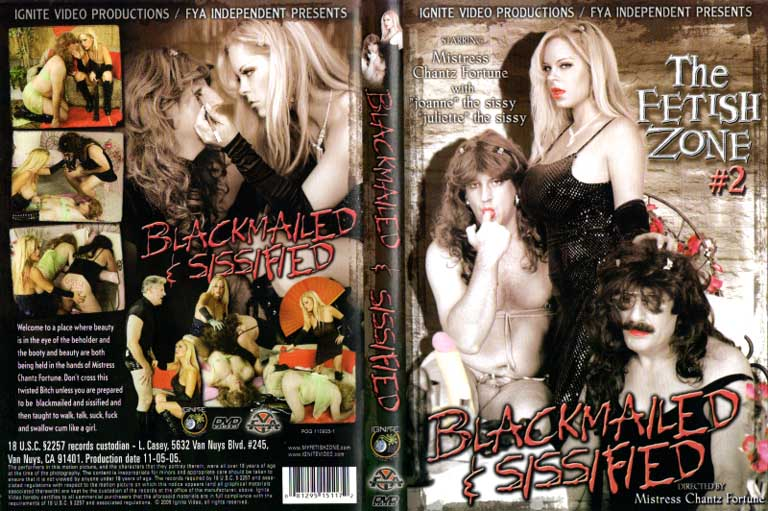 Fetish Zone 2 Blackmailed & Sissified - Sweet N Evil Video