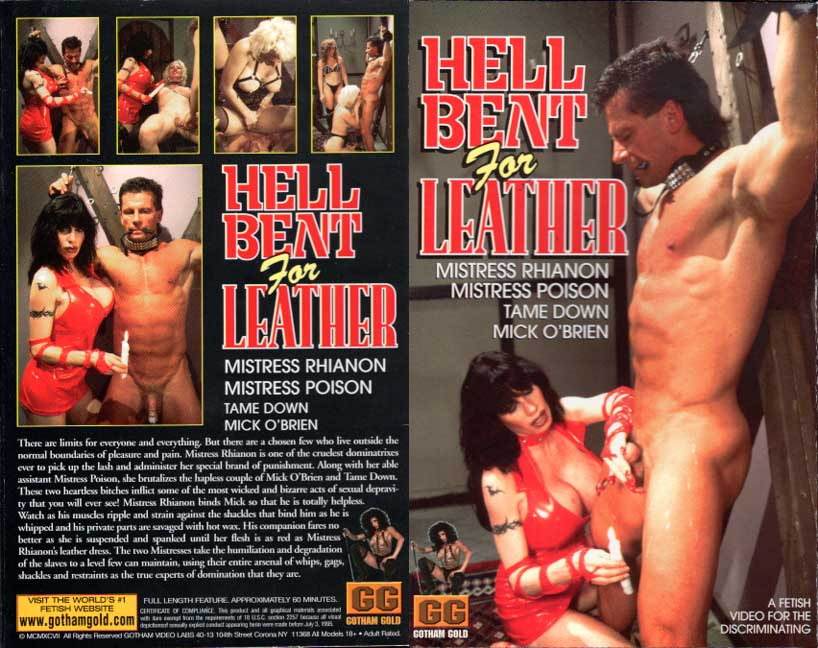 Mistress Rhiannon - Hell Bent For Leather