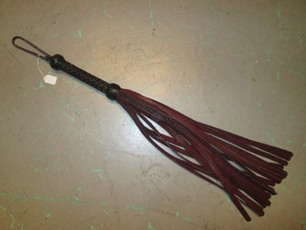 Vintage Jannete Heartwood Heavy Leather Flogger