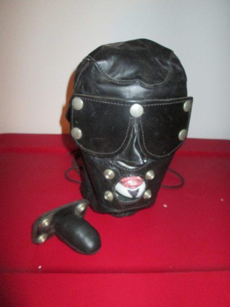 Black Leather Hood - Never Used
